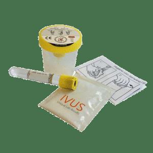 Urine-Probensatz